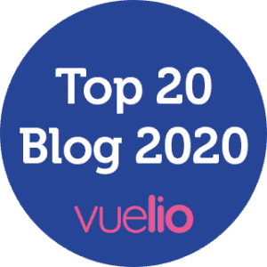 Vuelio Top 20 Blog 2020 Badge