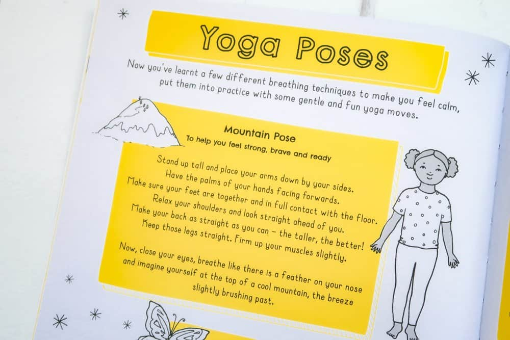 Chill Out: My Mindfulness Activity Book - Yoga Poses