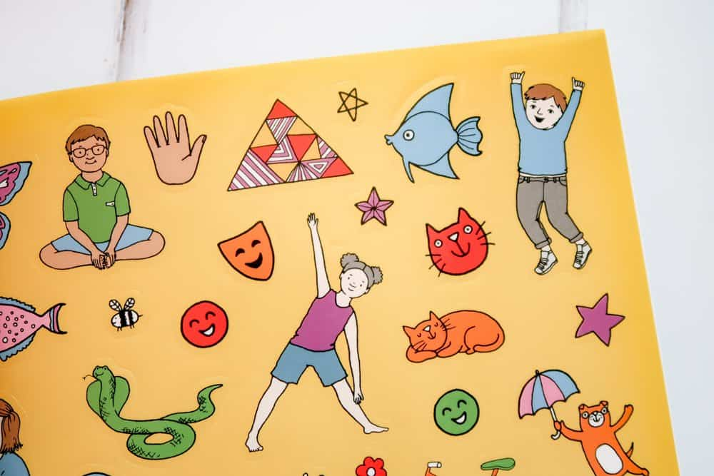 Chill Out: My Mindfulness Activity Book stickers