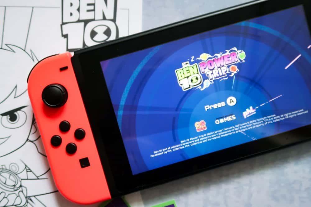 Ben 10 Power Trip - Nintendo Switch