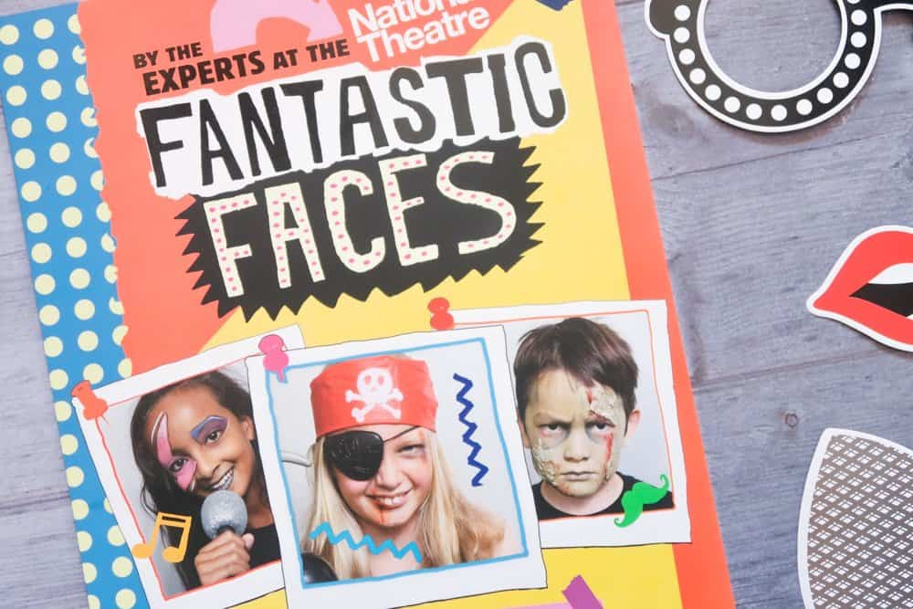 Fantastic Faces book by the experts at the National Theatre