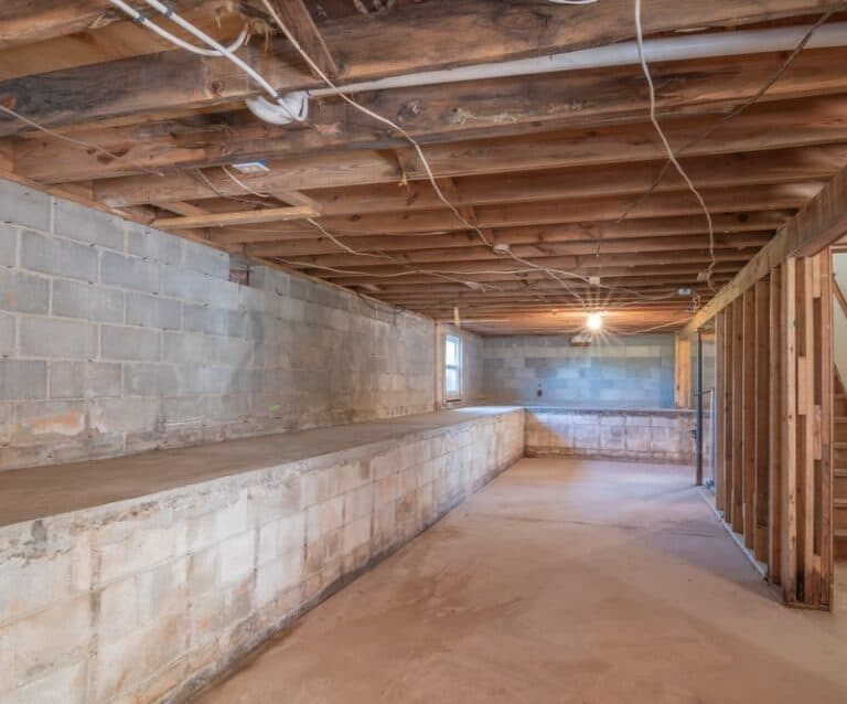 how to declutter your basement