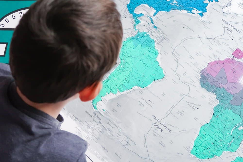 Future Mapping Company Classic World Map