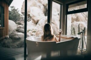spa experience with instant water heater