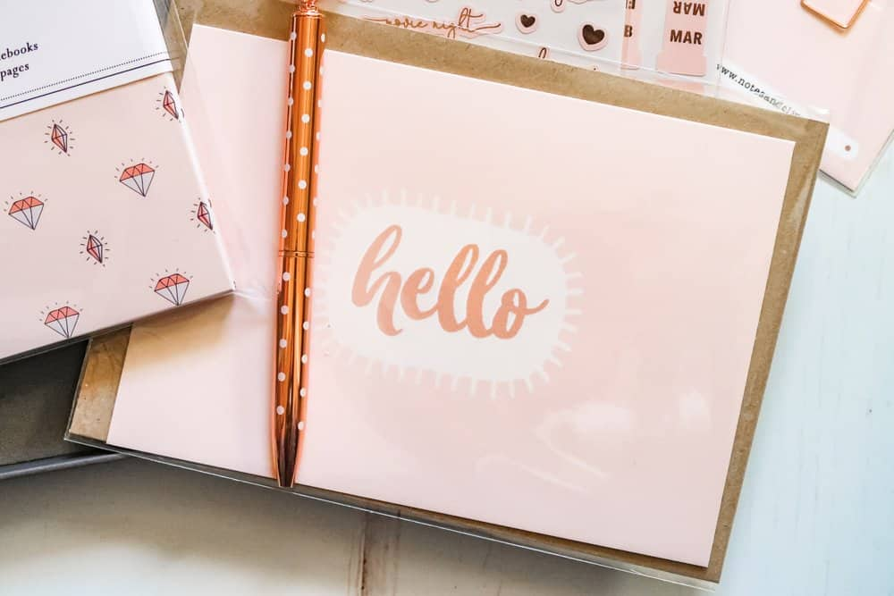 Notes & Clips Stationery Box