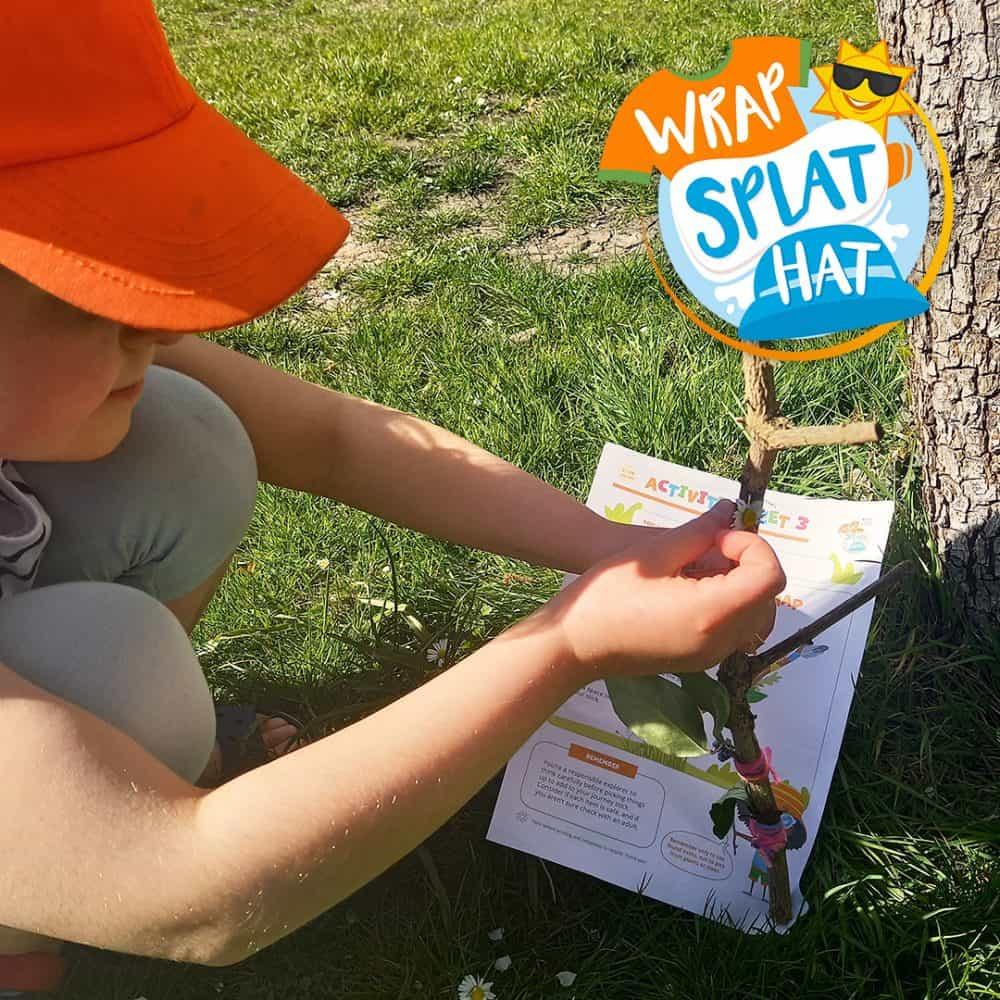 Wrap Splat Hat! Sun Awareness Programme 2021