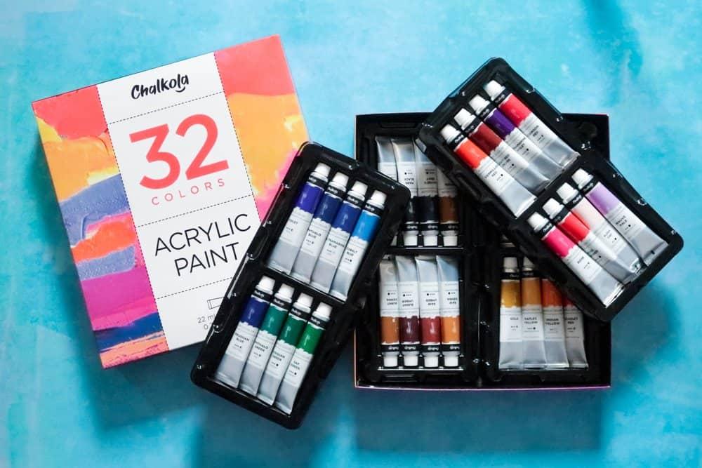 Chalkola 32 Acrylic Paints