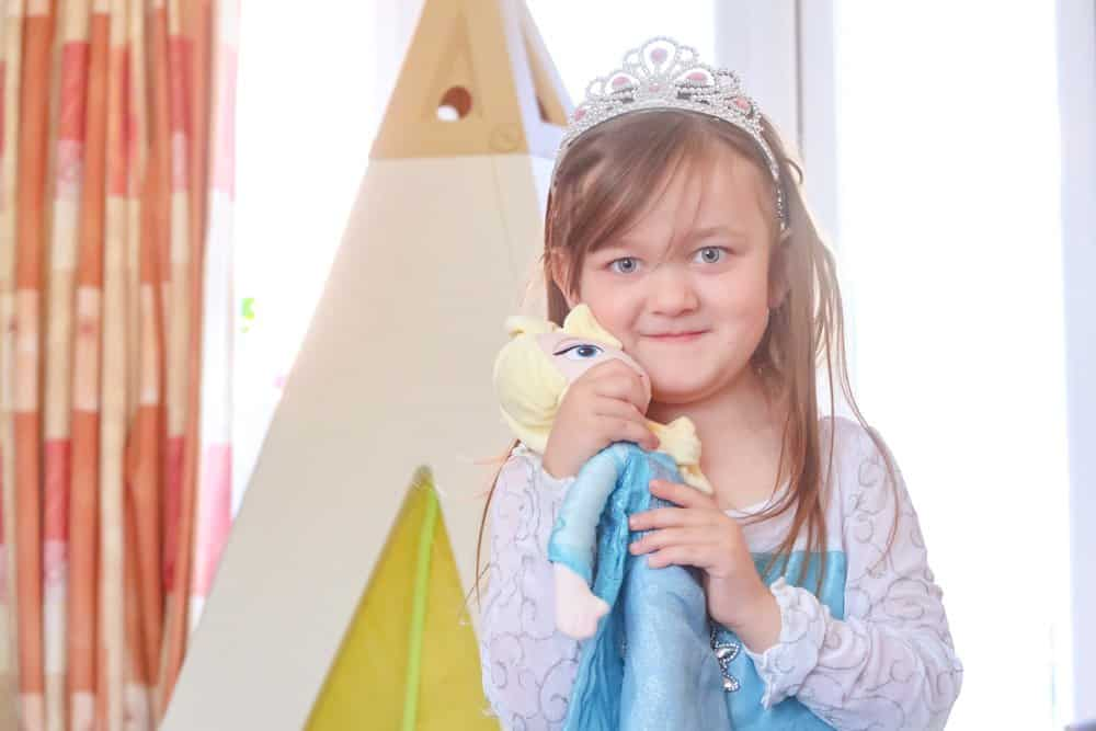 Smoby Teepee - Elsa's Frozen Castle