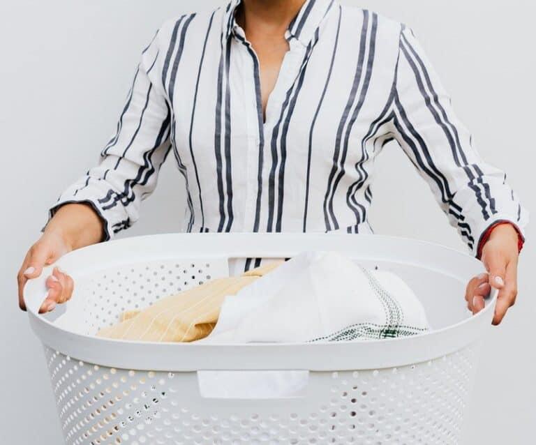 How I manage the family laundry