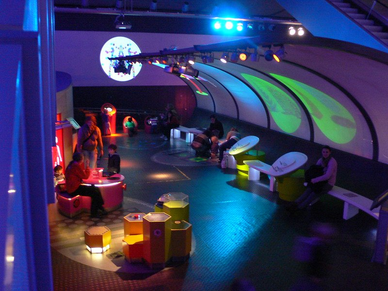 Pattern Pod at the Science Museum, London - educational attractions in England