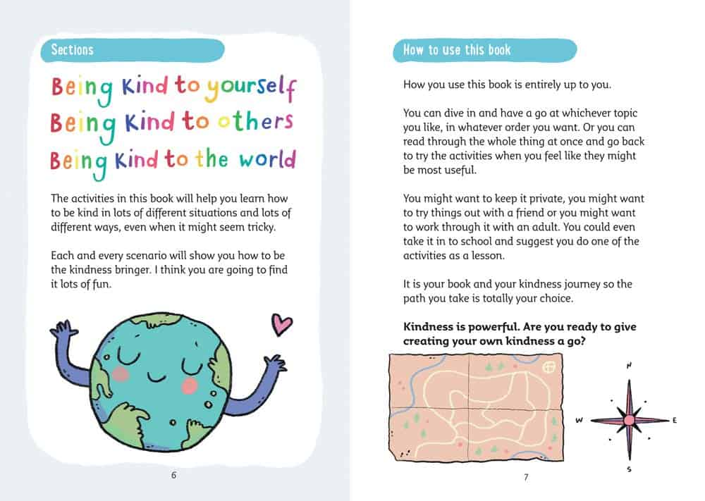 Create Your Own Kindness - how to use this book