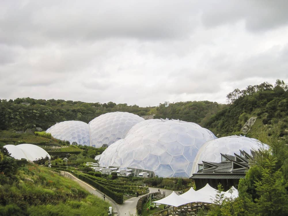 Eden Project - educational attractions in England