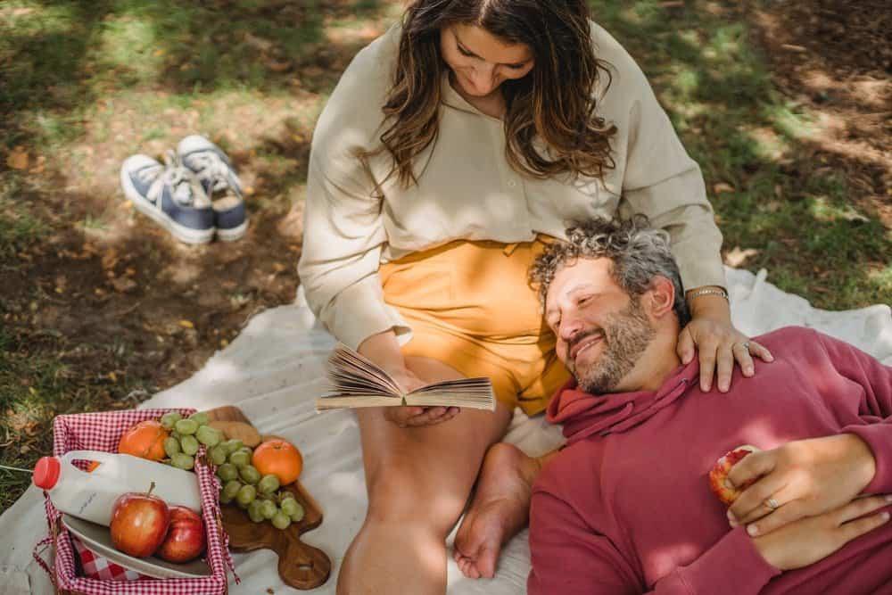 picnic in the garden