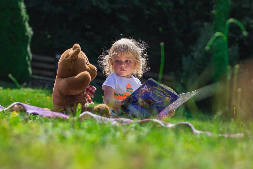read a book in the garden this summer