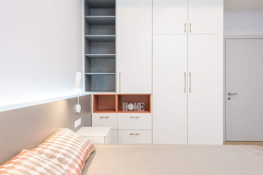 The design and look of built-in wardrobes