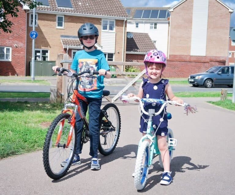 Back in the saddle with kids bikes
