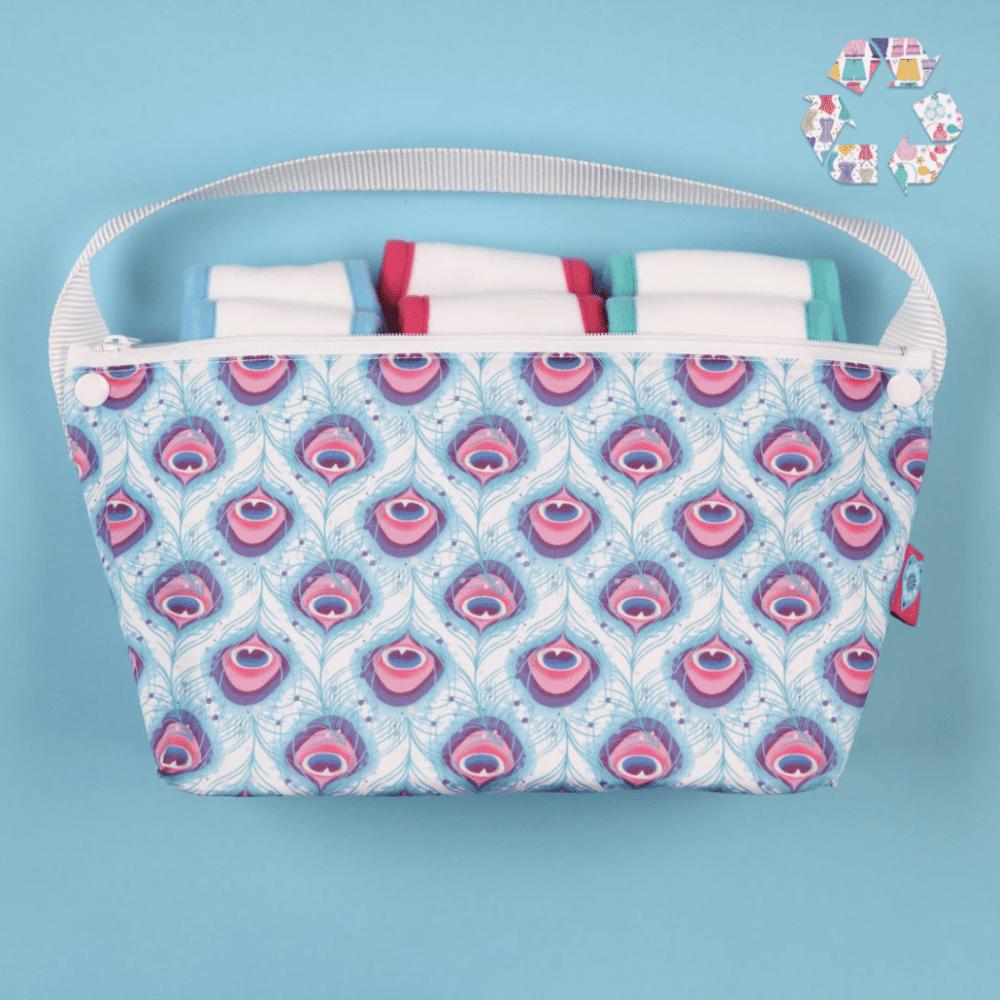 Bloom & Nora Bag Bathroom Lush - Reusable Sanitary Pads
