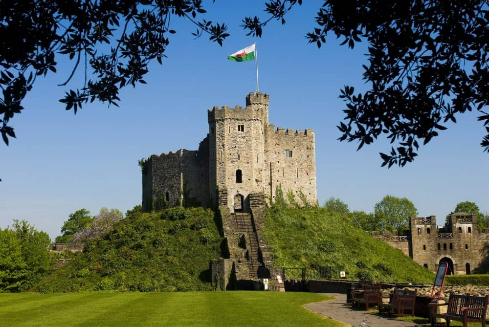 Cardiff Castle - educational attractions in Wales