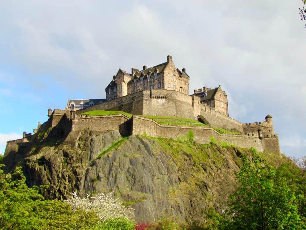 Edinburgh Castle - educational attractions in Scotland