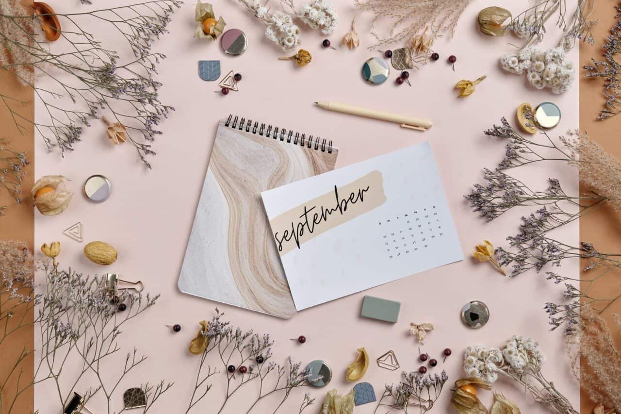 Monthly Goals - September