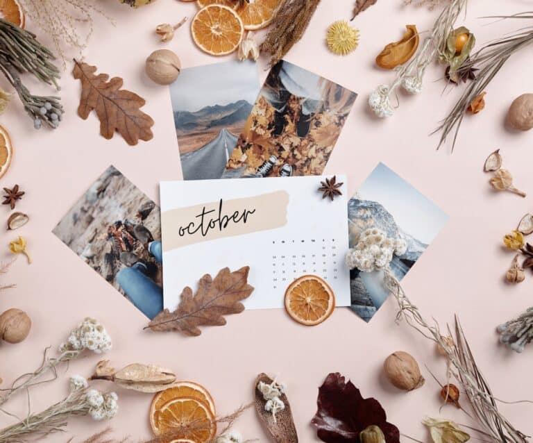 Monthly Goals - October
