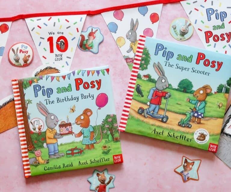 Pip and Posy Pre-school books