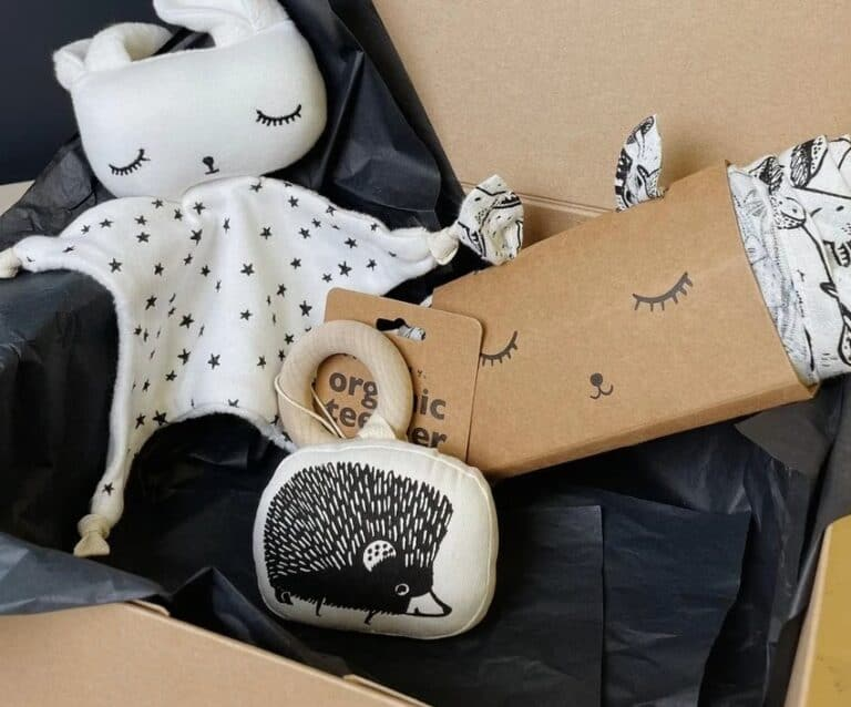 Soren's House Wee Gallery New Baby Gift Box