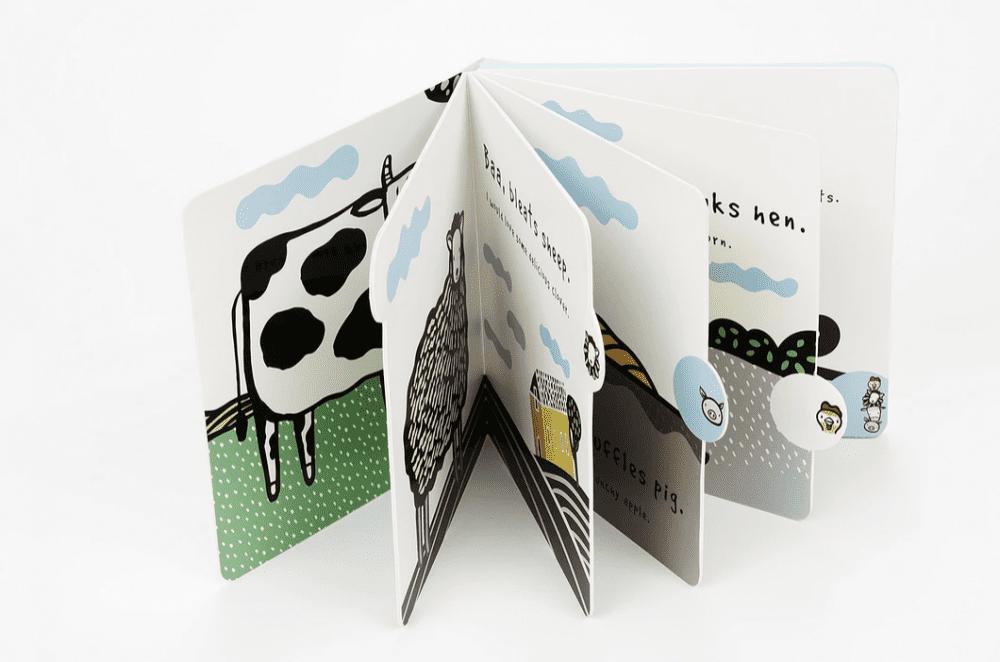 Wee Gallery Press & Listen Book - Moo, Cluck & Baa!