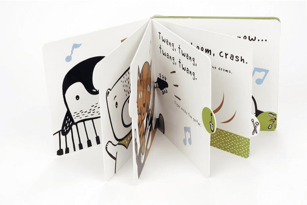 Wee Gallery Press & Listen Book - Toot, Toot, Boom!