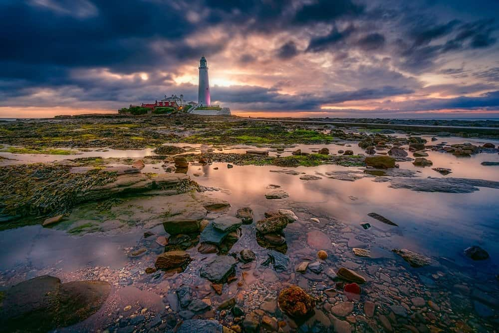 Whitley Bay Lighthouse - North East of England