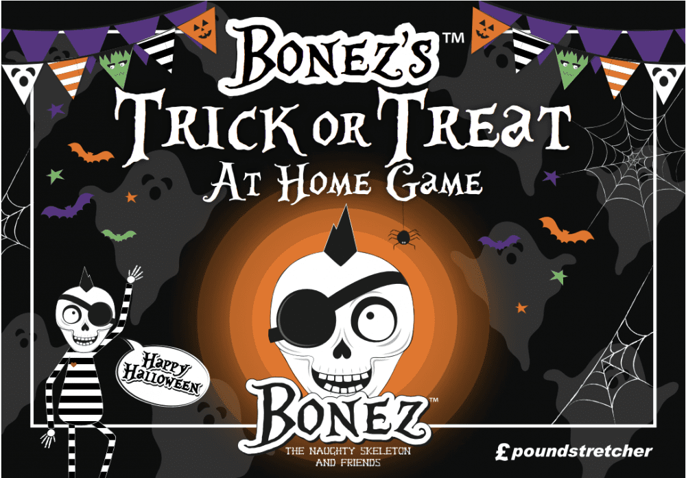 BONEZ Halloween At Home Game