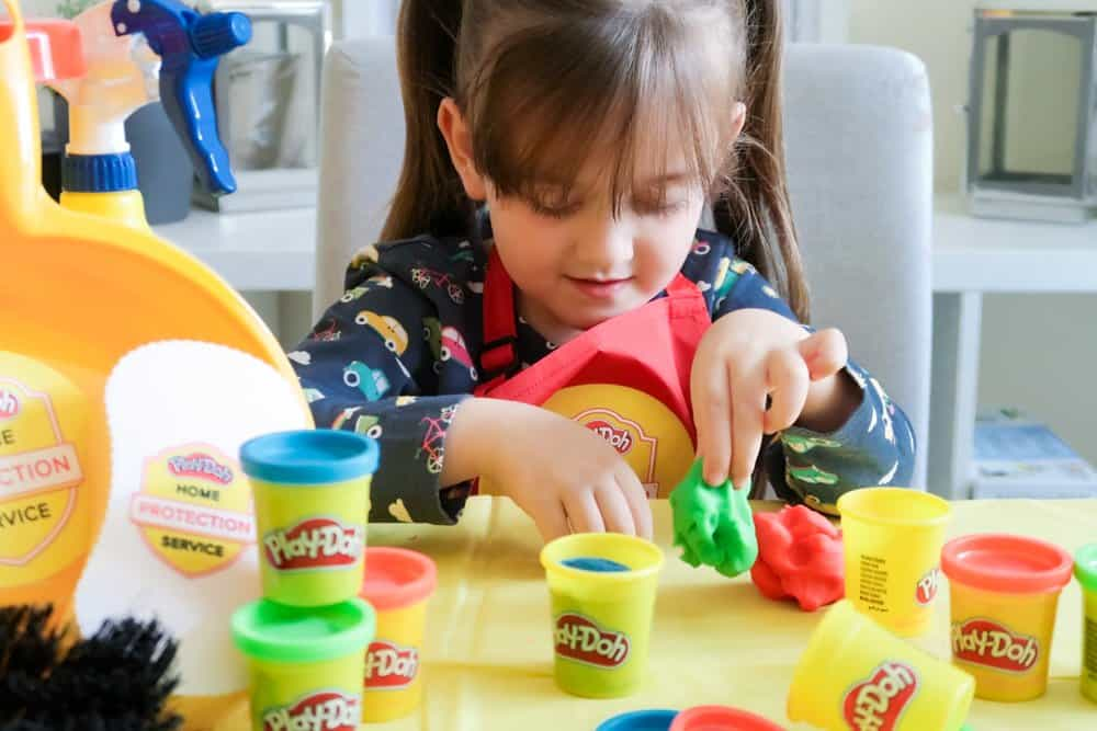 Play-Doh Home Protection Service