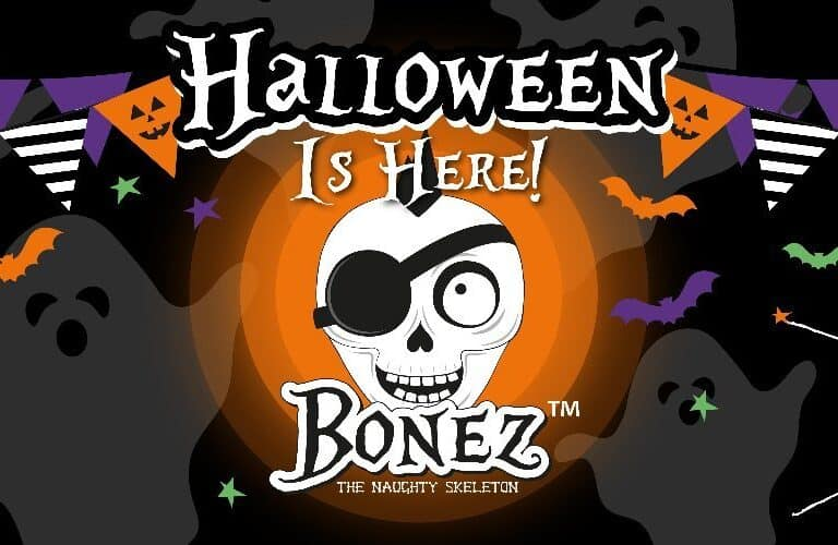 Poundstretcher Halloween BONEZ