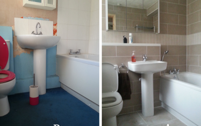 Bathroom Renovation – The finished article